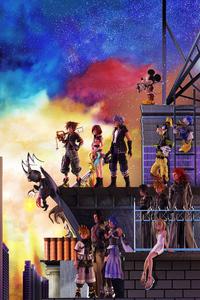 720x1280 Kingdom Hearts III