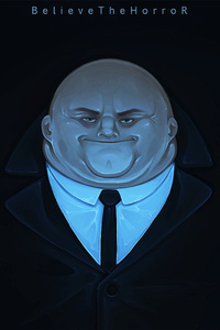 Kingpin In SpiderMan Into The Spider Verse