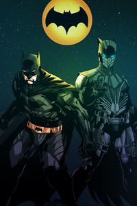 Knight Owl And Batman