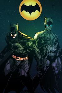 480x800 Knight Owl And Batman