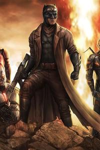Knightmare Zack Synder 4k