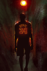 320x480 Kobe Bryant 2020 Artwork
