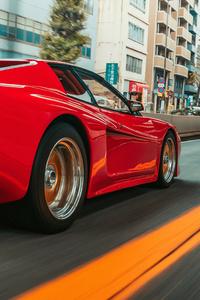 1242x2688 Koenig Ferrari Testarossa Bi Turbo 5k