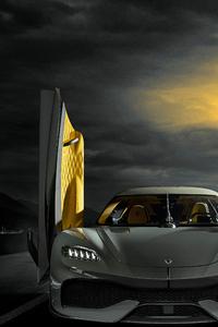 1080x2280 Koenigsegg Gemera 2020 5k