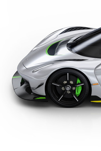 240x320 Koenigsegg Jesko 2019 Side View