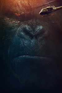 1242x2688 Kong Skull Island 2017 Movie