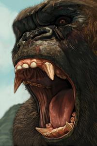 Kong Skull Island Artwork 4k