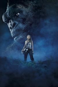 240x320 Kong Skull Island Brie Larson