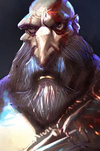 720x1280 Kratos 2020 4k
