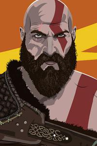 720x1280 Kratos 4k 2020