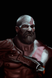 Kratos 4k Art