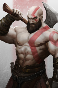 Kratos 4k Art New