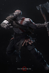 Kratos 4k New Art