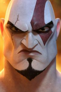 640x1136 Kratos Angry 4k