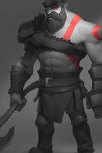 640x1136 Kratos Artwork