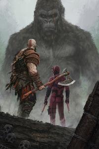 Kratos Daredvil And Kong 4k