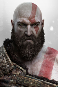 Kratos From God Of War 4k 5k