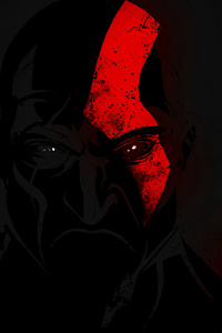 1080x2160 Kratos God Of War 4 Artist