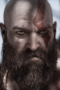540x960 Kratos God Of War 4 Video Game