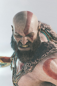 540x960 Kratos God Of War 4k 2018