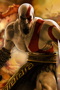 540x960 Kratos God Of War 4k Game