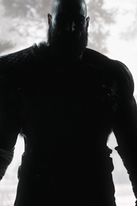 1080x2160 Kratos God Of War 4k