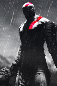 Kratos God Of War Artwork 5k