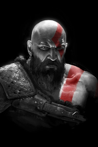 540x960 Kratos In God Of War 2018