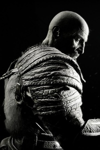 Kratos In God Of War 4K