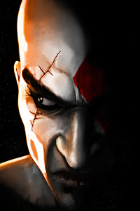 Kratos In God Of War Game