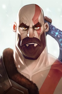 1080x1920 Kratos New Art