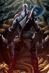 1125x2436 Kratos New Artwork