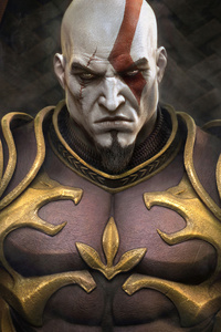 540x960 Kratos Throne God Of War