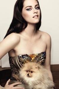 1242x2688 Kristen Stewart Actress 2020
