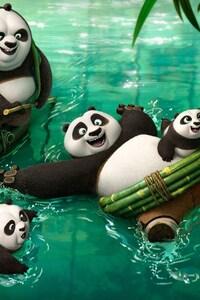1080x2280 Kung Fu Panda 3 2016