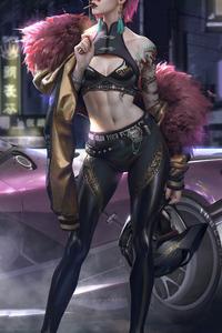 Kuo Cyberpunk Girl