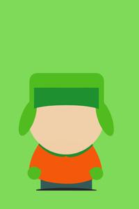 Kyle Broflovski South Park Minimalism 8k