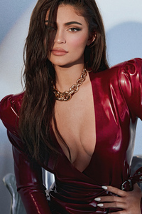 480x800 Kylie Jenner Vogue Hong Kong 4k