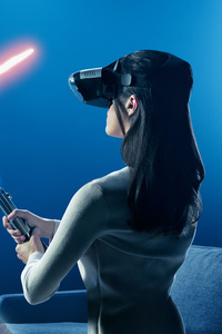Kylo Ren And Rey In Star Wars The Last Jedi VR Experience
