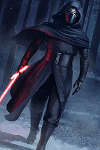 540x960 Kylo Ren Force Awakens Fan Art