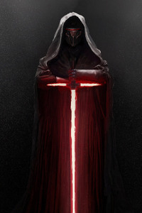 240x400 Kylo Ren Lightsaber Star Wars