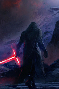 540x960 Kylo Ren Star Wars Artwork 4k