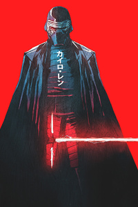 540x960 Kylo Ren Star Wars Artwork
