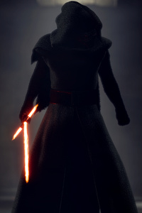 1080x2280 Kylo Ren Star Wars Battlefront 2