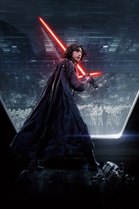 320x480 Kylo Ren Star Wars The Last Jedi 5k