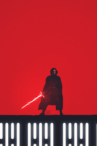 Kylo Ren Star Wars The Last Jedi Fan Art 5k
