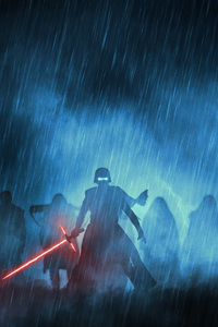 240x400 Kylo Ren With His Knights