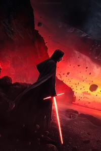 480x854 Kyloren Star Wars Lightsaber