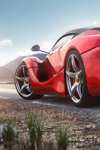 La Ferrari Rear