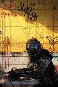 320x568 La Robo Police 4k